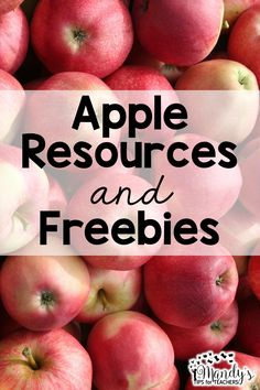 Tons of freebies for apples!