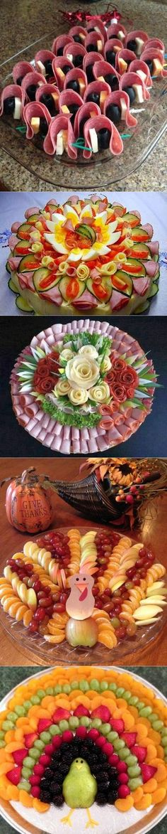 Cheese Platter Ideas Fall 55 Ideas For 2019 Party Trays, Party Buffet, Appetizers For Party, Appetizer Recipes, Food Carving, Food Garnishes, Cooking Recipes, Healthy Recipes, Food Displays