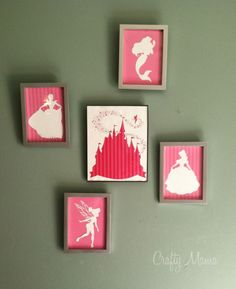 Disney Princess Wall Art – FREE DOWNLOAD! | :) Crafty Mama