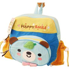 Cotton Cartoon Baby Backpack Children's Schoolbag Baby Backpack, Baby Cartoon, School Bags, Baby Kids, Maternity, Backpacks, Cotton, School Tote, Women's Backpack