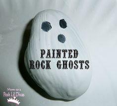 Mom to 2 Posh Lil Divas: Pre-K/K Halloween Theme: Ghosts Rocks & Learning Fun