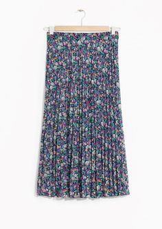Une jupe fleurie