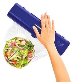 Amazon.com: Kuhn Rikon Fast Wrap Dispenser, Blue: Kitchen & Dining