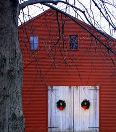 Red Barn in York, Maine
