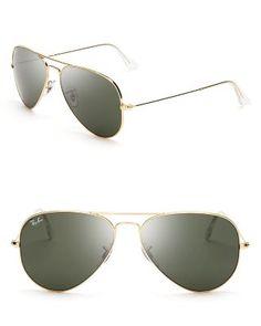 Ray-Ban Aviator Sunglasses | Bloomingdales