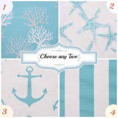 Decorative Throw Pillows Blue Pillow Beach Pillow Beach Decor Cushion Covers Accent Pillows