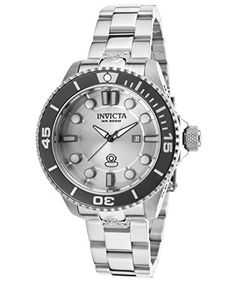 Invicta Womens 19812 Pro Diver Analog Display Swiss Quartz Silver Watch * Find out more about the great product at the image link.
