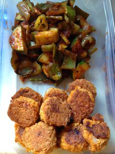 Feeding Ger Sasser: Constantly Varied Vegetables (shown with Paleo Salmon Croquettes)