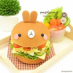 Molang hamburger