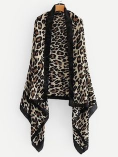 To find out about the Leopard Print Cardigan at SHEIN, part of our latest Sweaters ready to shop online today! Sweater And Shorts, Sweater Outfits, Sweater Cardigan, Long Cardigan, Cardigans For Women, Cute Dresses, Summer Dresses, Party Dresses, Winter
