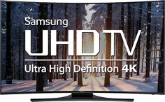 "55"" Curved 4K Ultra HD Smart 3D LED TV"
