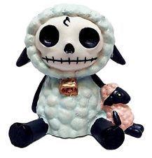 Furrybones Wooley Sheep Figurine