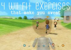 4 wii fit exercises that make you sweat.  This is my 2013 Year of Purpose Workout #2.  I've been doing a minimum of 30 minutes everyday in addition to any other workouts that I have on the roster.  Gets me sweating and stretched out!  I love the game-like challenge.