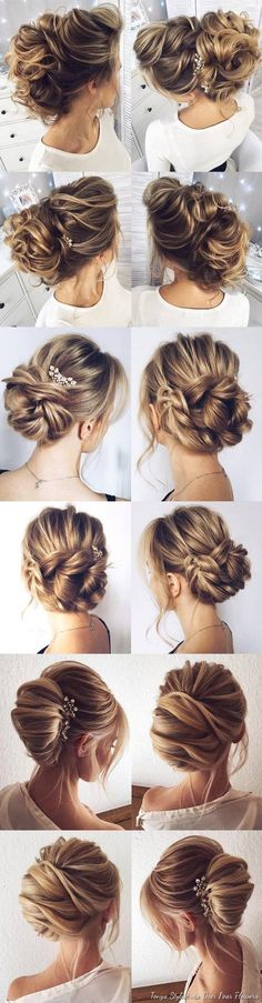 Check it out Idée Tendance Coupe & Coiffure Femme 2018 : Wedding Hairstyles for Long Hair from Tonyastylist / www.deerpearlflow The post Idée Tendance Coupe & Coiffure Femme 2018 : Wedding Hairstyles for Lo… appeared first on Noymy . Wedding Hairstyles For Long Hair, Up Hairstyles, Pretty Hairstyles, Straight Hairstyles, Straight Updo, Hairstyle Ideas, Bridal Hairstyles, Hairstyles For Weddings, Country Wedding Hairstyles