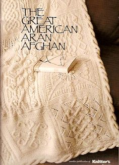 The Great American Aran Afghan Kit - Got Yarn! Got Kits! Get Knitting!