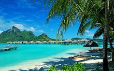 Bungalows en las playas paradisiacas de Hawaii