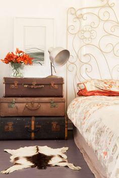 Gypsy House Designs: vintage luggage