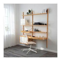 SVALNÄS Wall-mounted workspace combination  - IKEA