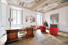 """""""Palazzo dei Leoni"""" 17th century mansion for sale renovated in 2012 combining luxury materials with modern technology"""