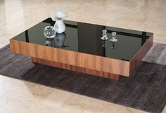 SQUARE contemporary coffee table