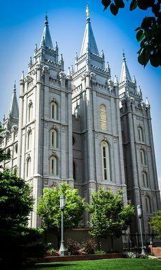 Salt Lake Temple by KingBobYJr, via Flickr