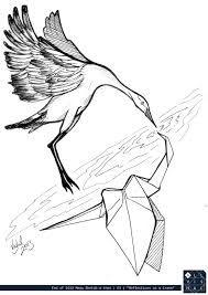 origami cranes tattoo - Buscar con Google