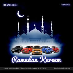 May the spirit of light illuminate your world with bright sparkles of happiness this Ramadan, that stay with you through the days ahead. Concorde Motors wishes you all a very Happy Ramadan! ‪#‎ConcordeMotors‬ ‪#‎TataMotors‬ ‪#‎Ramadan‬ ‪#‎Ramzan2016‬