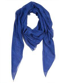 Tuch 100% Modal VALERIE - Farbe IMPERIAL BLUE