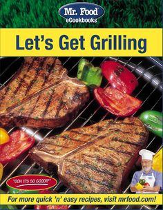 Let's Get Grilling free eCookbook - Start off your summer cookout with easy grilling recipes, including hamburgers, steaks, ribs, appetizers, and so much more!