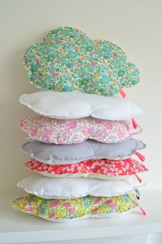 Cloud pillows. So cute!