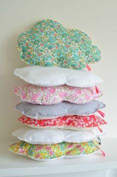 cloud pillows.
