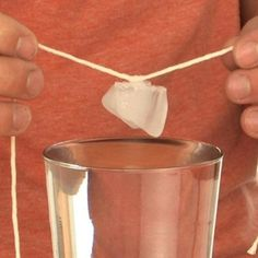 Ice Cube Rope - Sick Science! | Experiments | Steve Spangler Science
