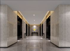 A lobby is usually an area for visitors to sit, relax or just pass through it. So visually appealing for a bathroom!