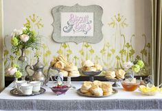 Southern Biscuit Bar -- I'd include all kinds of different homemade jams/jellies, flavored butters, honey, etc