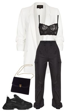 """Untitled #54"" by rbstyles ❤ liked on Polyvore featuring River Island and Naja"