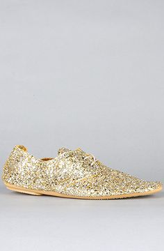 19c70670763 Anniel The Derby Glitter Shoe in Silver and GoldExclusive   Karmaloop.com -  Global Concrete