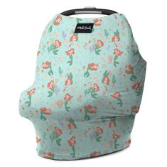 Looking for the ultimate nursing cover? This versatile breastfeeding cover-up can also be used for car seats, shopping carts, high chairs, and swings! Little Mermaid Nursery, The Little Mermaid, Disney Little Mermaids, Baby Disney, Disney Nursery, Milk Snob Cover, Breastfeeding Cover, Baby Swings, Cute Cars