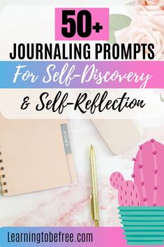 Need some journaling prompts for self-discovery or self-reflection? Check out these prompts to get you more in touch with yourself. Journal Writing Prompts, Journal Ideas, Journal Topics, Mental Health Journal, Self Acceptance, Self Care Routine, Learning To Be, Coping Skills, Self Discovery