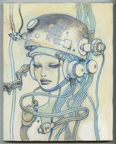 GR2: Hot Pot Girls - Katsuya Terada Art