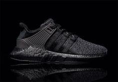 Adidas EQT 93/17 Boost Triple Black