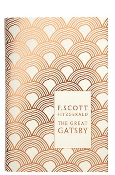 F. Scott Fitzgerald - The Great Gatsby - Art Deco cover illustration by Coralie Bickford Smith