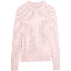Michael Kors Collection Open-knit mohair and silk-blend sweater (€305)
