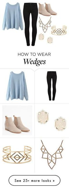 """I....have.....a...boyfriend..."" by bree-russell on Polyvore featuring J Brand, Chicnova Fashion, Kendra Scott and Stella & Dot"