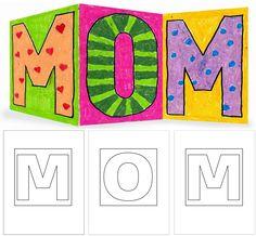 MOM-Card Template
