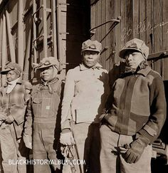 All A Board | 1943 A group of African American women employed by Topeka and Santa Fe Railroad, 1943. Sepia tone (original b). Courtesy of Blackhistoryalbum.com, The Way We Were. ~Repinned Via Kay Elmore