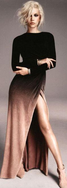 Очаровательная бархатное платье Outfit