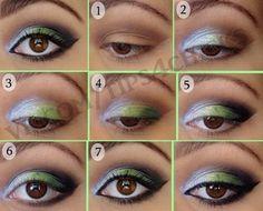 Deep winter makeup Lots Of Makeup, Makeup Tips, Beauty Makeup, Hair Makeup, Makeup Ideas, Makeup Tutorials, Green Eyeshadow, Eyeshadow Ideas, Oil Free Makeup