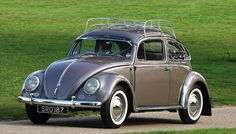 """VW Beetle """"Oval"""" - referring to the rear windscreen. Produced between 1953 & 57"""