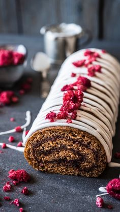 Finnish Recipes, Baked Rolls, Crepe Cake, Yule Log, Specialty Cakes, Breakfast Cake, Holiday Treats, Sweet Recipes, Food And Drink