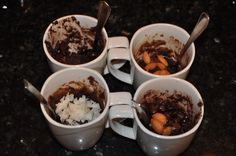 3 Minute Paleo Brownie – Instant Dessert for One